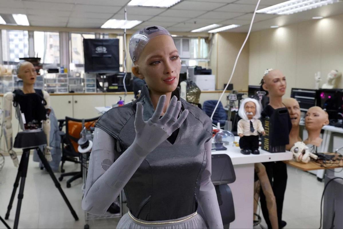 Sophia robot humanoide