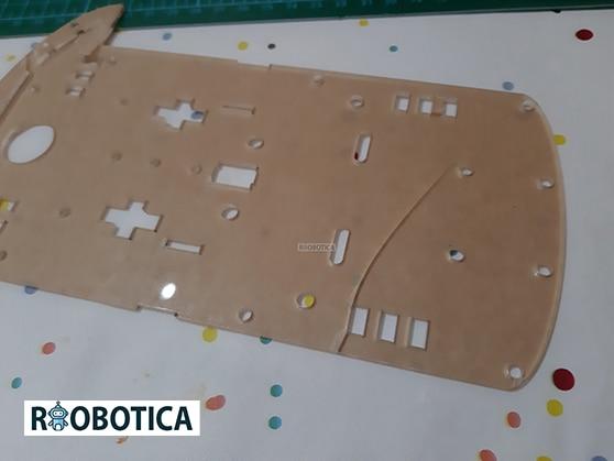 Base de metacrilato coche robot