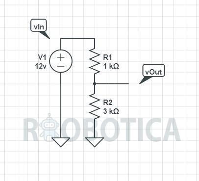 Calcular división de voltaje