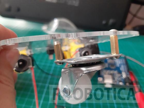 Coche Robot rueda trasera