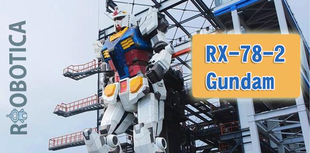 RX-78-2-Gundam el robot real