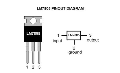 Regulador de tensión 7805