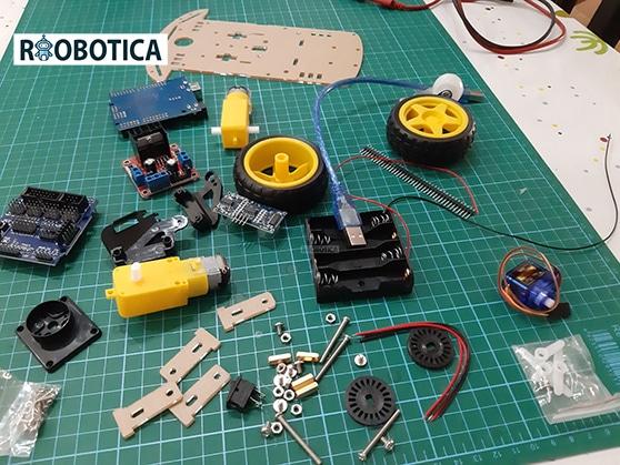 Robot 2wd piezas aliexpress