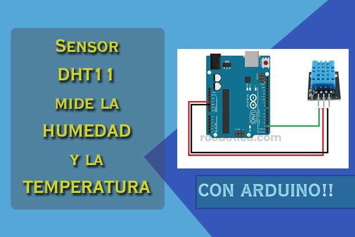 como usar el sensor dht11 en arduino