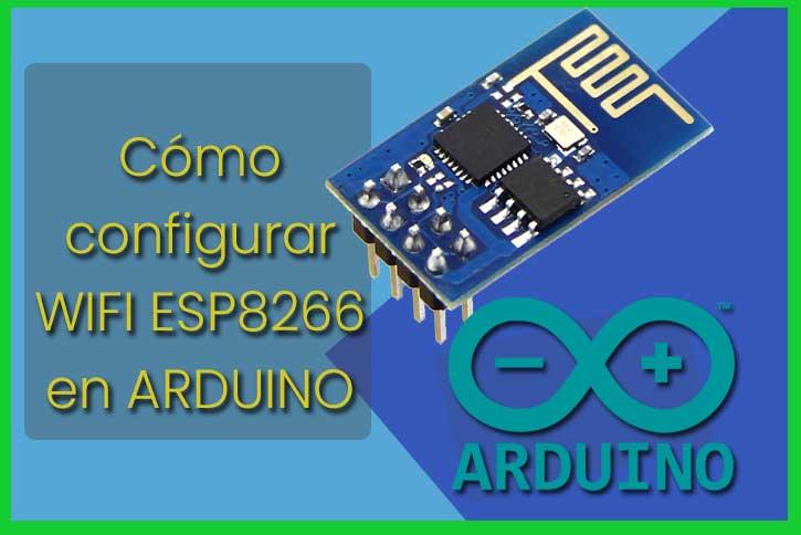 Configurar wifi esp8266 arduino